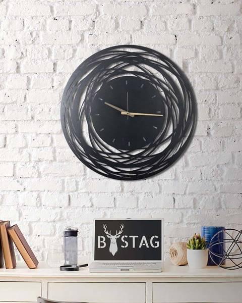 Bystag Nástěnné kovové hodiny Ball, ø 70 cm