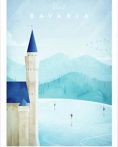 Plakát Travelposter Bavaria, A2