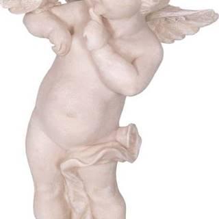 Dekorativní socha z polyresinu ve tvaru anděla Antic Line Ange,výška22cm