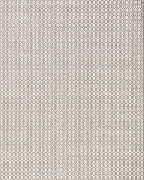 Bougari Šedý venkovní koberec Bougari Coin, 80x150cm