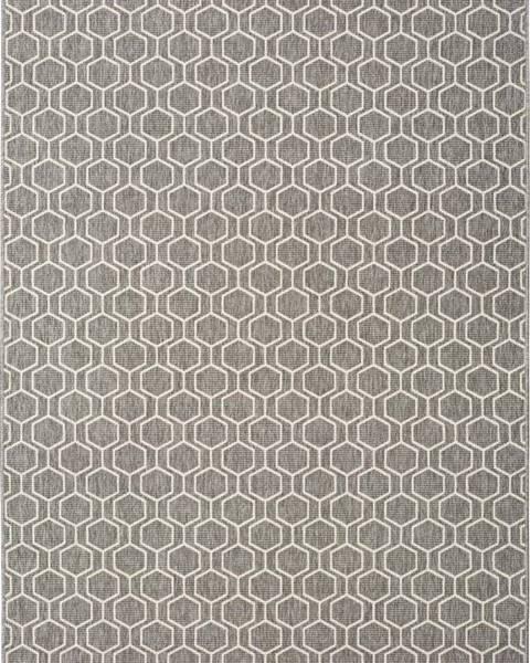Universal Šedý venkovní koberec Universal Clhoe, 140 x 200 cm