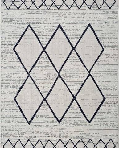 Bílošedý venkovní koberec Universal Elba, 120 x 170 cm