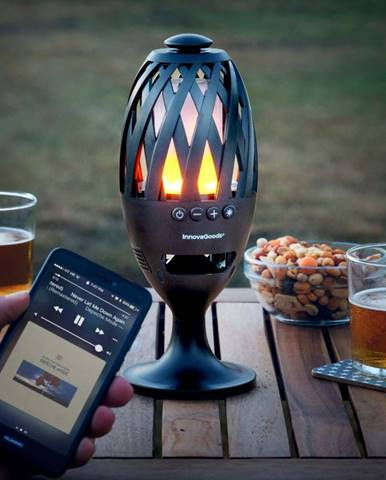 LED svítilna s reproduktorem na Bluetooth InnovaGoods