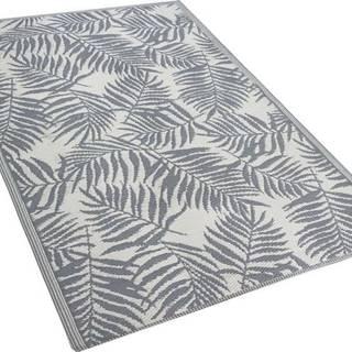 Tmavě šedý venkovní koberec Monobeli Casma, 120 x 170 cm