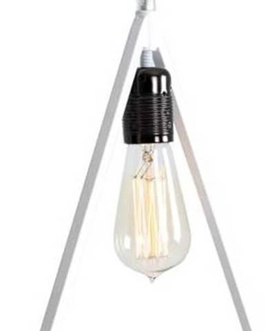 Bílé závěsné světlo Custom Form Triam