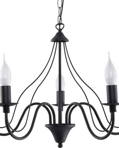 Černé závěsné svítidlo Nice Lamps Fiorano 5