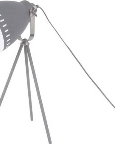 Šedá stolní lampa Leitmotiv Tristar