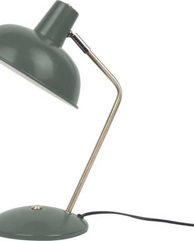 Tmavě zelená stolní lampa Leitmotiv Hood