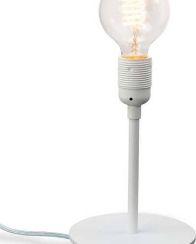 Bílá stolní lampa Bulb Attack Uno Basic