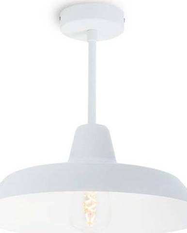 Bílé stropní svítidlo Bulb Attack Cinco Basic
