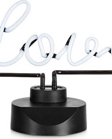 Černá stolní LED dekorace s nápisem Markslöjd Texas