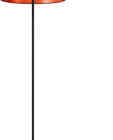Černoměděná stojací lampa Sotto Luce Mika, ⌀40 cm