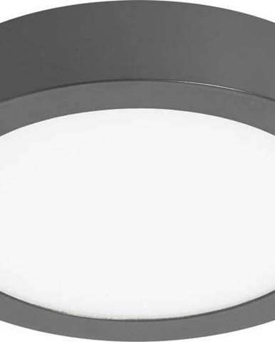 Šedé kruhové stropní svítidlo SULION, ø30cm