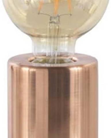 Stolní lampa s kovovým podstavcem v měděné barvě Geese, výška 12 cm