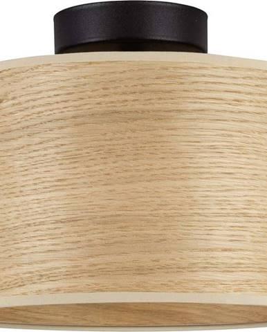 Stropní svítidlo z dubové dýhy Sotto Luce TSURI S, ø 25 cm