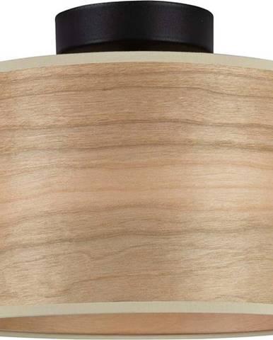 Stropní svítidlo z třešňové dýhy Sotto Luce TSURI S, ø 25 cm