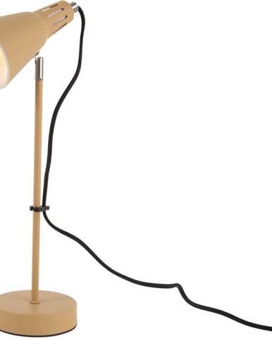 Hořčicově žlutá stolní lampa Leitmotiv Mini Cone,ø16cm