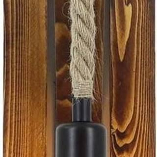 Nástěnné svítidlo z borovicového dřeva Niki