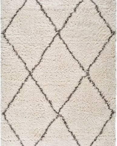 Béžový koberec Universal Lynn Lines, 80 x 150 cm