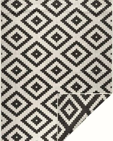 Černo-krémová venkovní koberec Bougari Malta, 200x290 cm