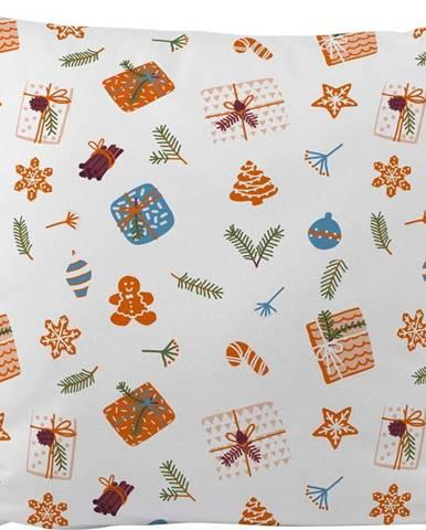 Polštář s vánočním motivem Butter Kings Wrapped Surprise,45x45cm