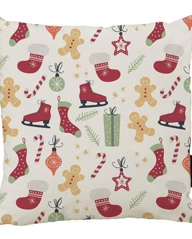 Vánoční polštář s bavlněným povlakem Butter Kings Winter,45x45cm