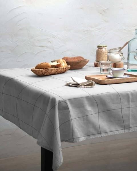 Linen Couture Ubrus Linen Couture Grey Lines, 140 x 200 cm