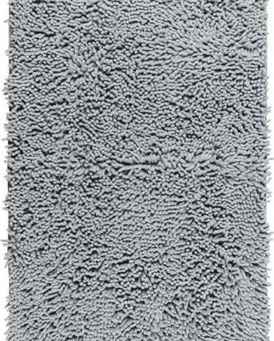 Světle šedá koupelnová předložka Wenko Chenille, 80x50cm