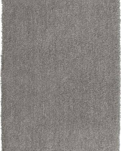 Světle šedá koupelnová předložka Wenko Mélange, 90x60cm