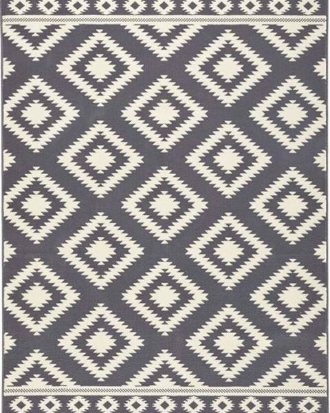 Hanse Home Šedý koberec Hanse Home Gloria Ethno, 160x230cm
