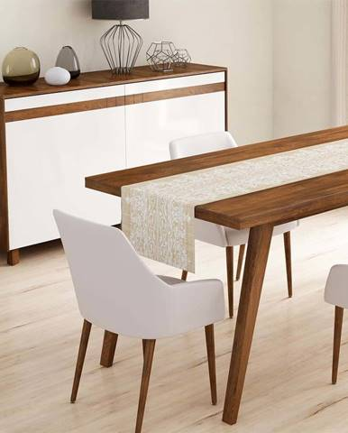 Běhoun na stůl Minimalist Cushion Covers Beige Ethnic,45x140cm