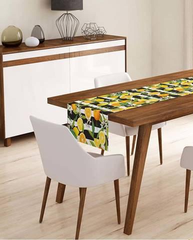 Běhoun na stůl Minimalist Cushion Covers Lemon,45x140cm