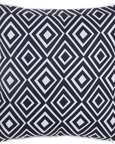 Černobílý povlak na polštář Mike&Co.NEWYORK Rhombus, 43 x 43 cm