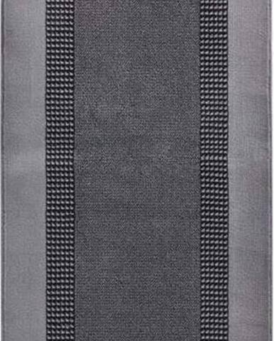 Koberec Basic, 80x250 cm, šedý