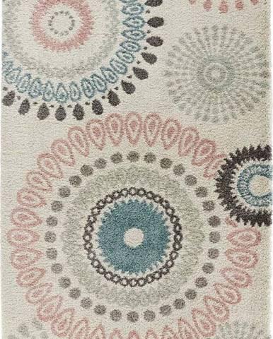 Krémový koberec Mint Rugs Globe, 160 x 230 cm