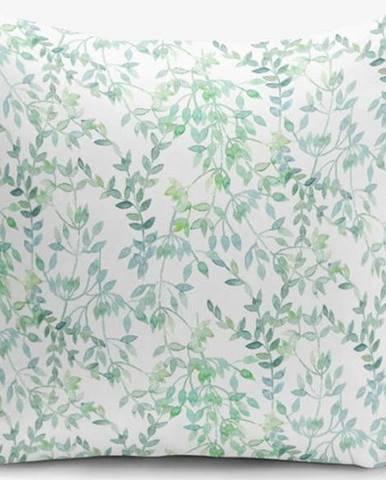 Povlak na polštář Minimalist Cushion Covers Modern Leaf, 45x45cm