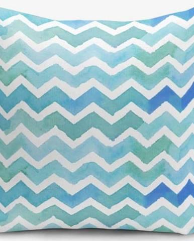 Povlak na polštář s příměsí bavlny Minimalist Cushion Covers ZigZag, 45 x 45 cm