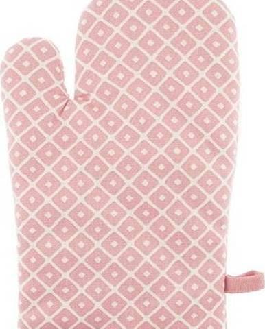 Růžová bavlněná chňapka Tiseco Home Studio Dot