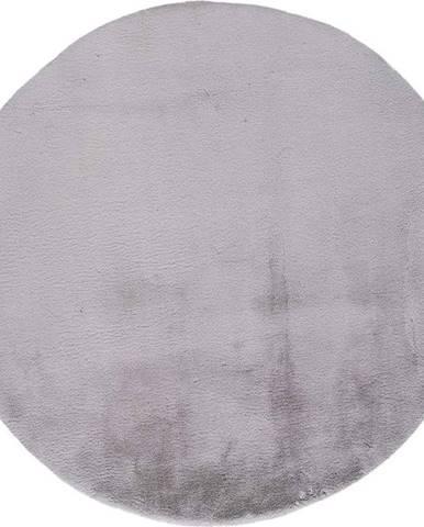 Šedý koberec Universal Fox Liso, Ø 120 cm