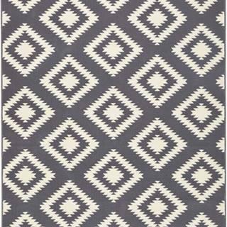 Šedý koberec Hanse Home Gloria Ethno, 160x230cm