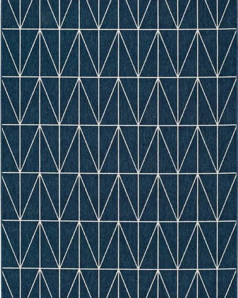 Universal Modrý venkovní koberec Universal Nicol Casseto, 80 x 150 cm