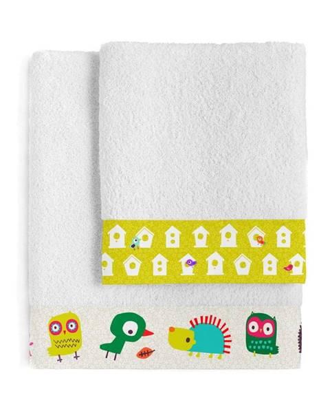 Moshi Moshi Sada 2 dětských bavlněných ručníků Moshi Moshi House