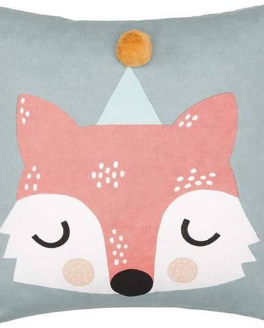 Dětský bavlněný polštář Södahl Fox, 45 x 45 cm