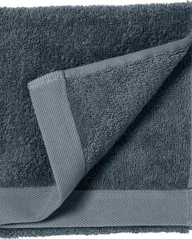 Modrý ručník z froté bavlny Södahl China, 60 x 40 cm