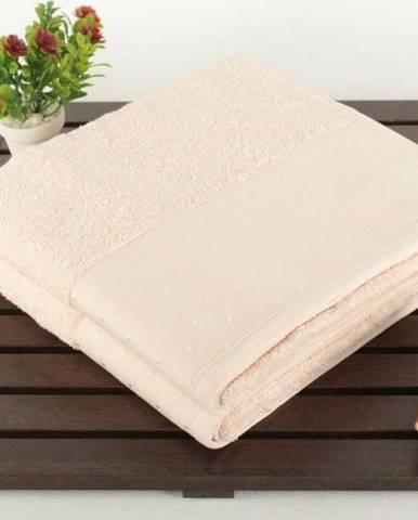 Sada 2 pudrově růžových bavlněných ručníků ze 100% bavlny Patricia, 50x90cm