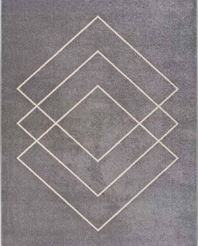 Šedý koberec Universal Breda, 115 x 160 cm