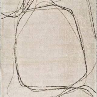 Krémový koberec Universal Moana Treo, 120 x 170 cm