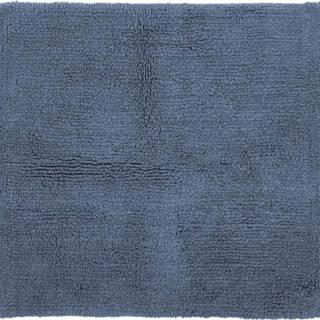 Modrá bavlněná koupelnová předložka Tiseco Home Studio Luca,60x60cm