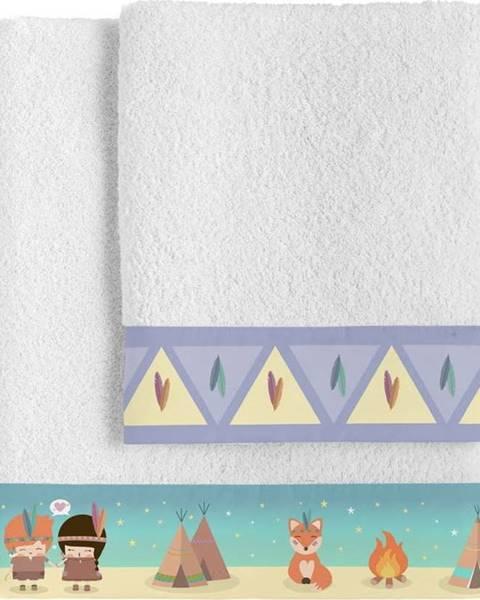 Happynois Set osušky a ručníku Happynois Indian Night