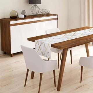 Běhoun na stůl z mikrovlákna Minimalist Cushion Covers Gartio, 45x140cm